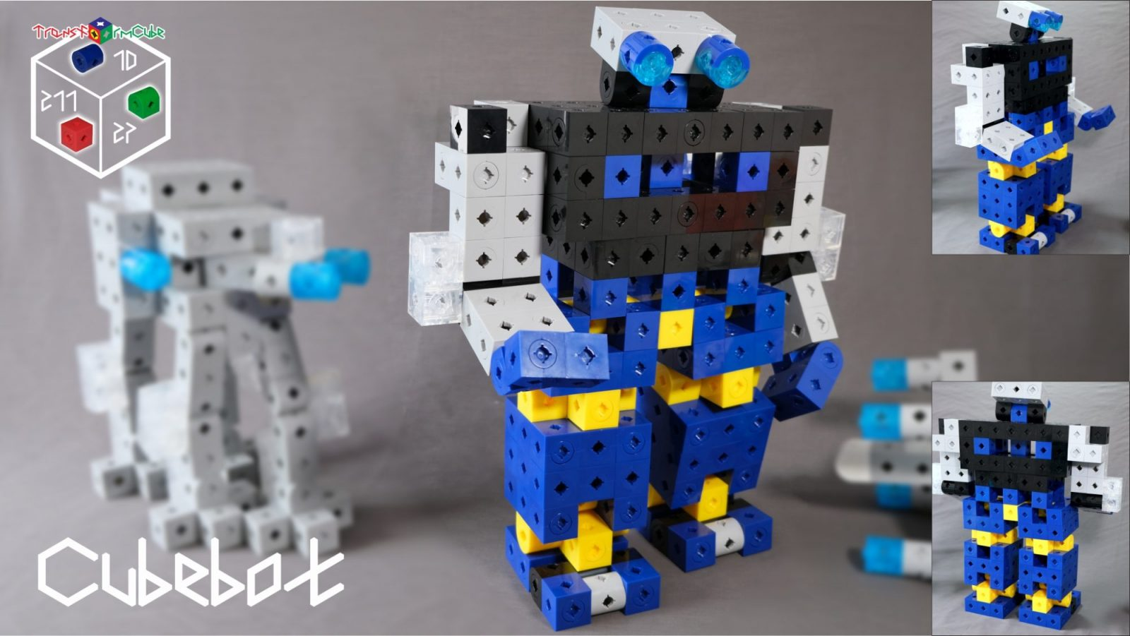 Cubebot - an evil humanroid robot