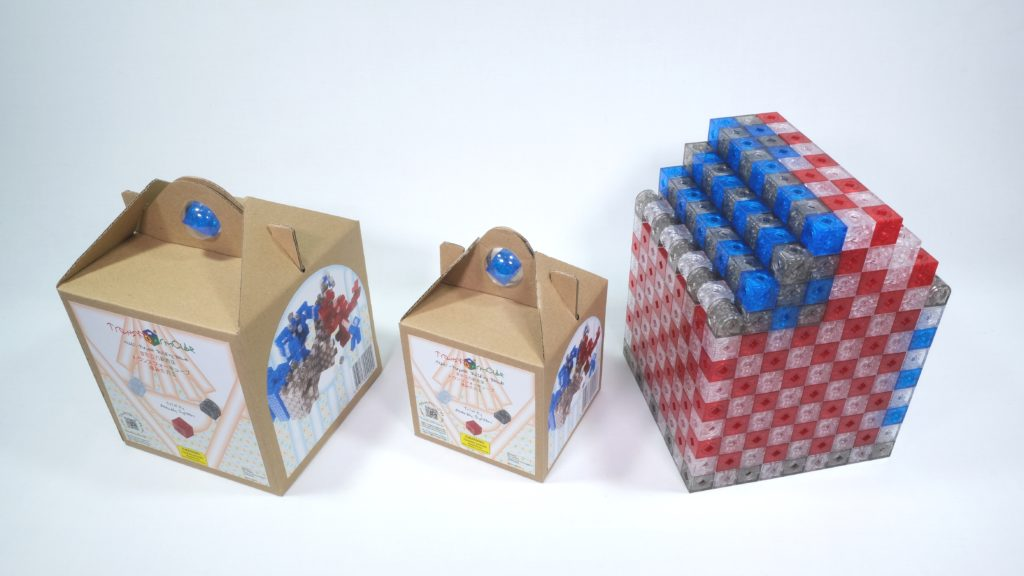 Packaging of 512 pcs, 216 pcs and 216 pcs package in assembly packaging