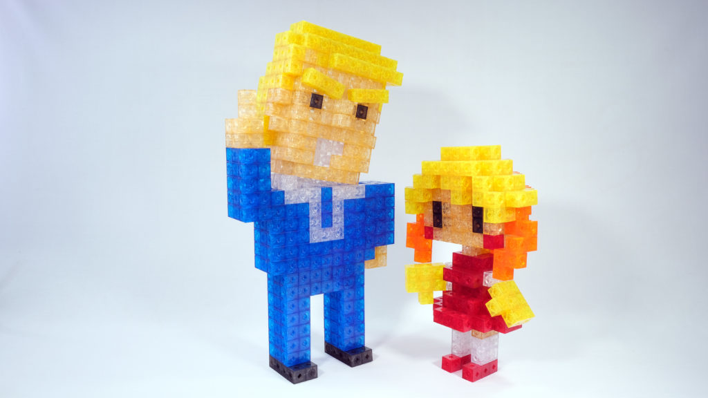 Trump and Girl
