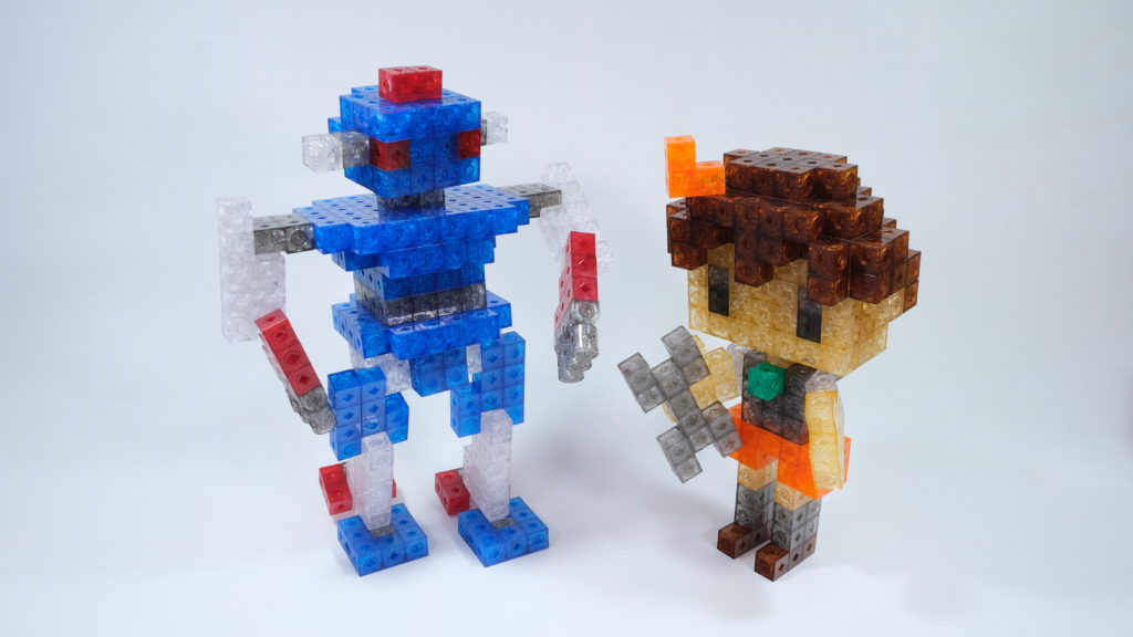 Boy and Robot MkIII
