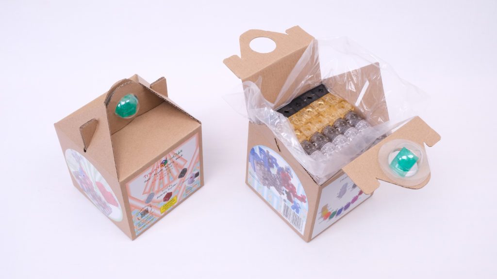 Packages of 216pcs building beads