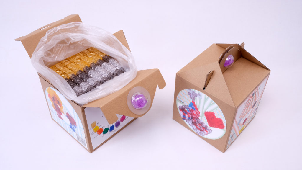 Packages of 512pcs building beads